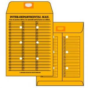 WS5086  10 x 13 Roptex Open End Interdepartmental Mail Catalog
