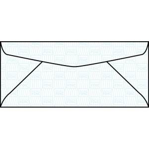 WS494  3.62 x 6.5 Western Sulphite Regular Envelope