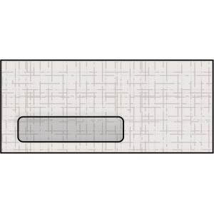 WS3275  4.12 x 9.5 Antique Linen Cellophane Window Envelope